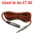 "1831 Lead  XLR to 1/4"" JACK Balanced Cable"