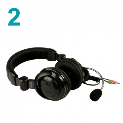 Coomber Package of 2 Teaching Headsets