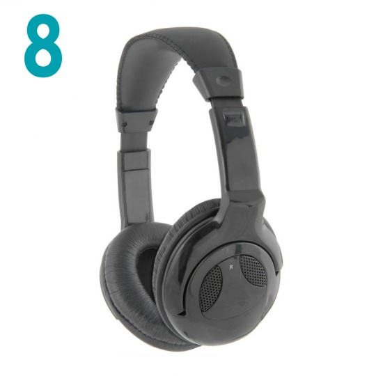 Coomber Headphones Package of 8