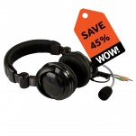 41390 Stereo Headset with Boom Mic Pack of 10