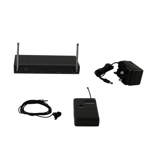 UHF Wireless Lapel Microphone for voice amplification