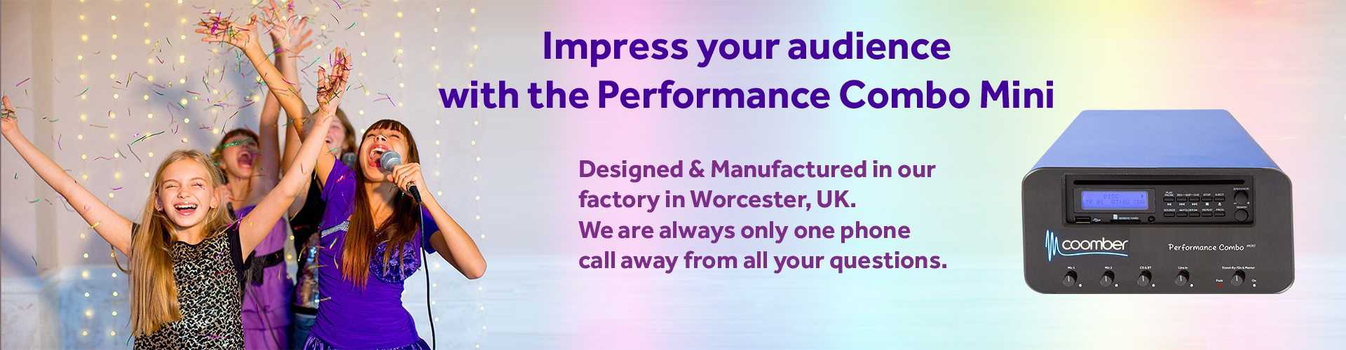 Leading British manufacturer of quality educational audio products and sound systems -