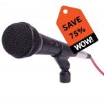 1918 High Quality Dynamic Microphone