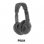 P02A package of 6 41330A Stereo Headphones 3.5mm Plug