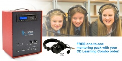 Free one-to-one mentoring pack with your CD Learning Combo order