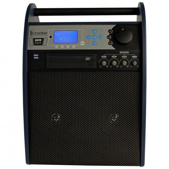 Coomber Portable Amplifier with audio controls 2410